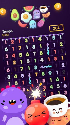 Code Triche Numberzilla - Puzzle de Nombres | Number Game APK Mod screenshots 1