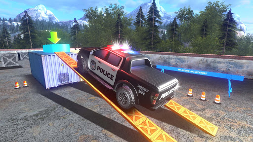 Police Car Parking Mania 3D Simulation filehippodl screenshot 15