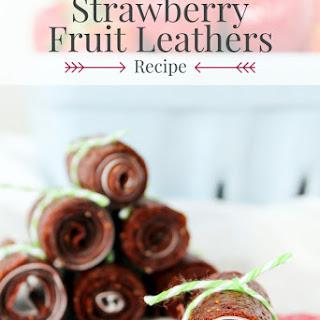 Strawberry Fruit Leathers