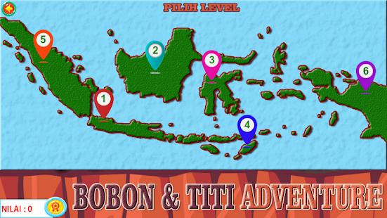 Bobon Dan Titi Adventure - náhled