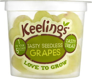 Keelings Tasty Seedless Grapes