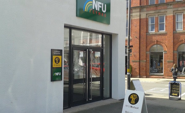 NFU Mutual moves into 'old Spar'