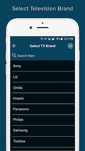 Remote Control for All TV 1.1.0 screenshots 2