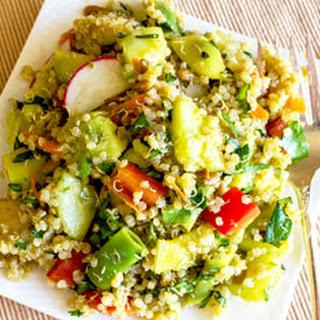 Easy Quinoa Salad Recipe and Video