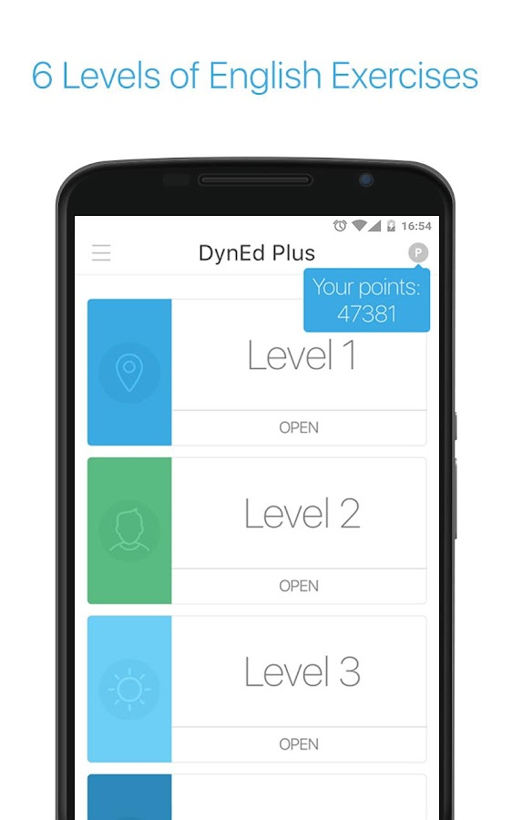 DynEd Plus- screenshot