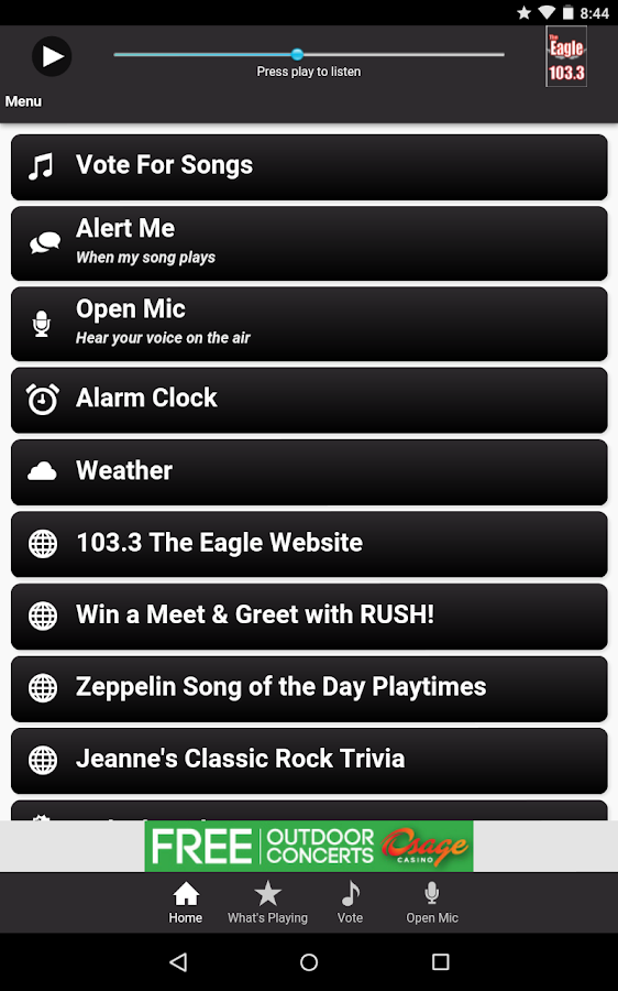 103.3 The Eagle- screenshot