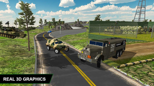 Off Road Army Truck Driving Game  screenshots 2
