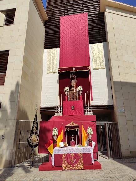 Altar de la Hermandad de Pasión.