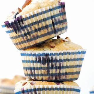 Blueberry Ricotta Lemon Almond Muffins
