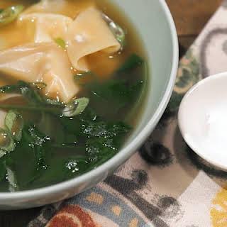 Turkey Wonton Soup.