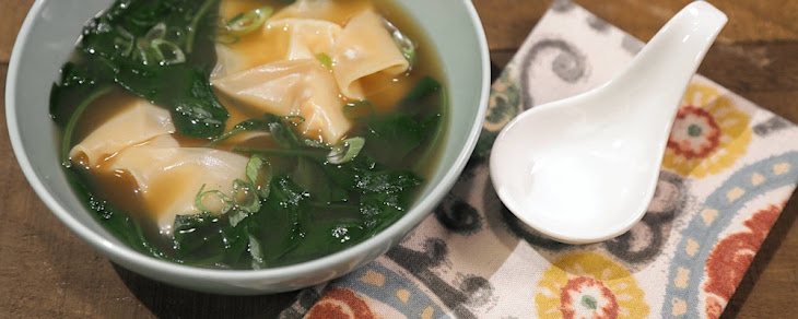 Turkey Wonton Soup Recipe