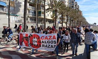 Manifestación 'No a la caza' en Almería