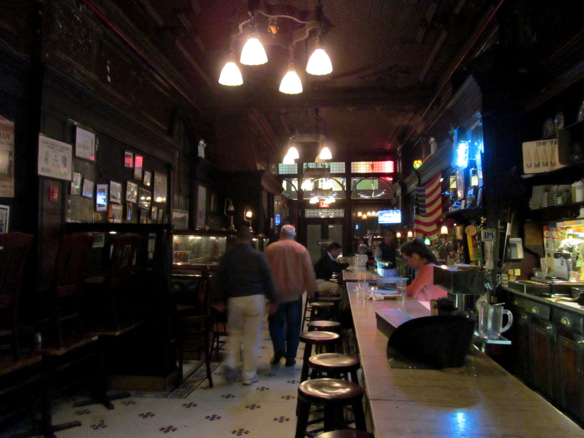 Photo: Old Town Bar downstairs