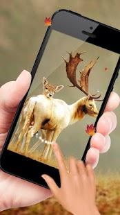3D Deer Nature Live Wallpaper - náhled