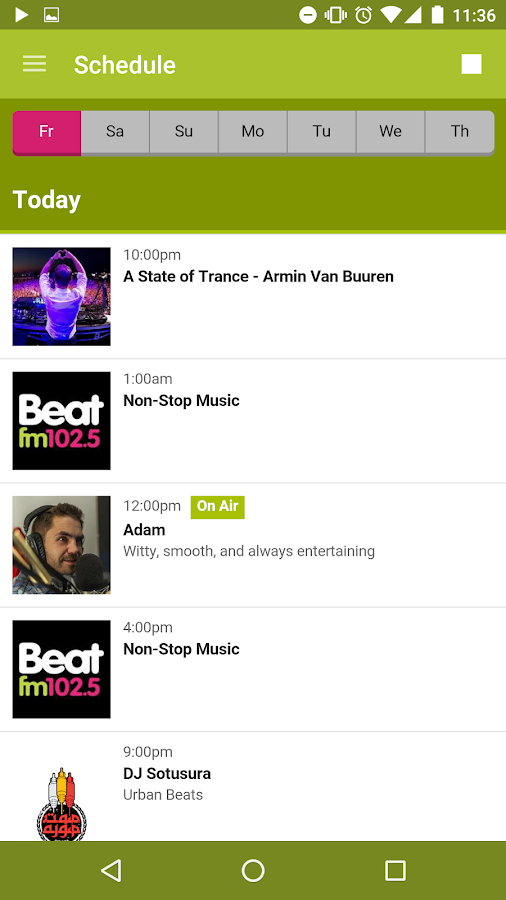 Beat FM- screenshot