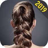 School Hairstyles Step By Step, Braiding Hairstyle Icon