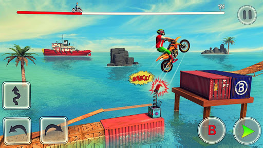 Bike Stunt Race Master 3d Racing - Free Games 2020 screenshots 3