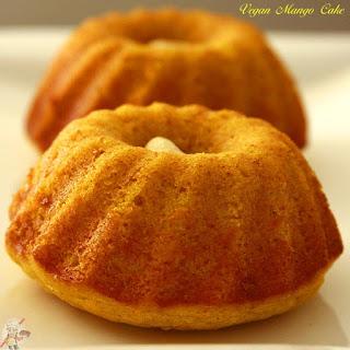 Vegan Mango Cake.