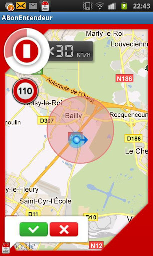 ABE (GPS communautaire) screenshot 3
