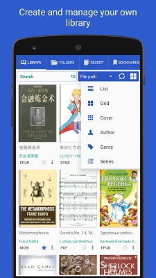 PRO Lirbi Reader: PDF, eBooks - screenshot
