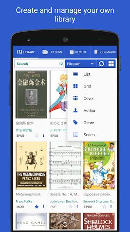 Librera PRO - Book reader and PDF (no Ads) Screenshot