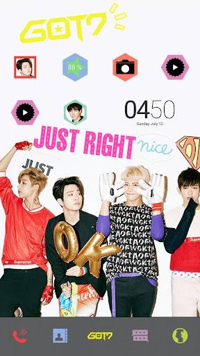 Just Right LINE Launcher theme
