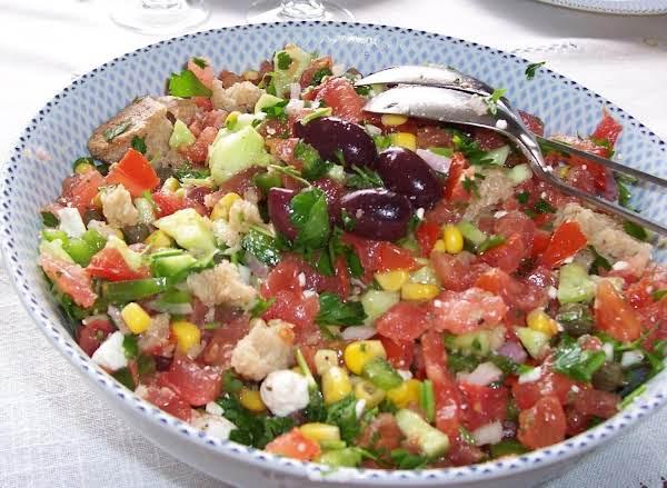 My Cretan Village Salad