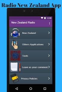 Radio New Zealand App (RNZ) - náhled