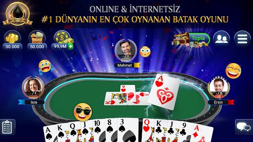 Batak Club: Online Batak Eşli Batak İhaleli Batak  captures d'écran 1