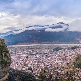 by Nikos Diavatis - Landscapes Mountains & Hills ( mavic, meteora, panorama )