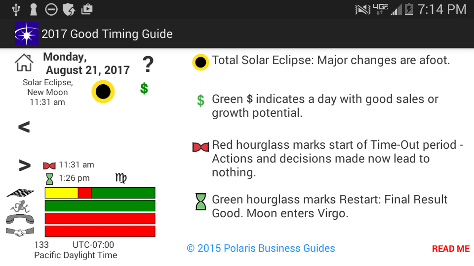Good Timing Guide 2017- screenshot