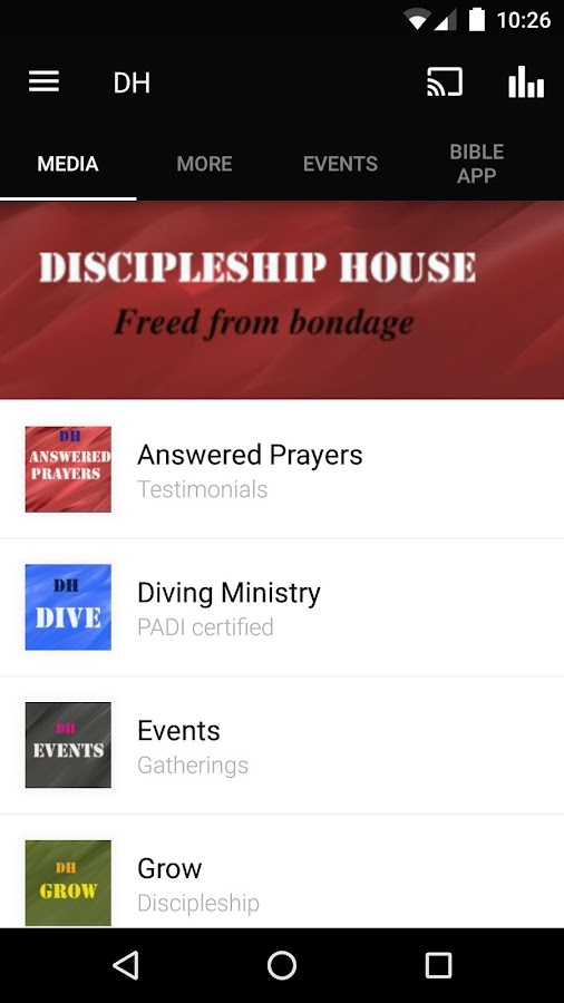Discipleship House- screenshot