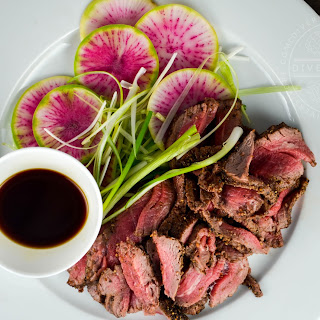 Beef Tataki with Ponzu