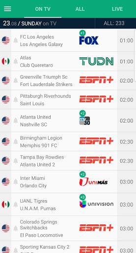 Soccer Live on TV - Telefootball 8.1.8 Screenshots 7