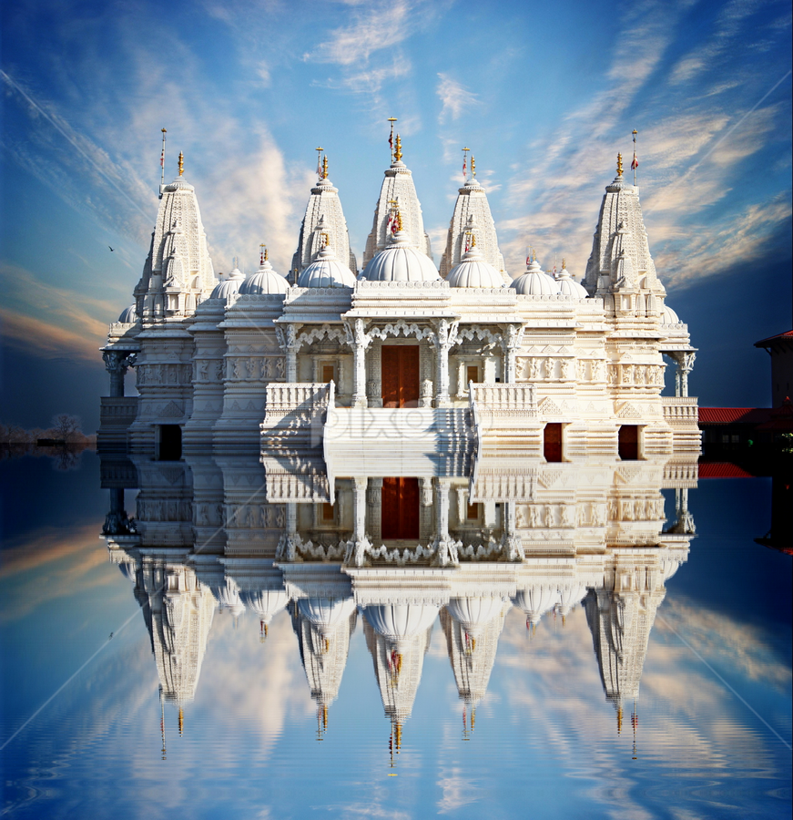 by Dipali S - Travel Locations Landmarks ( reflection, pwclandmarks, krishna )