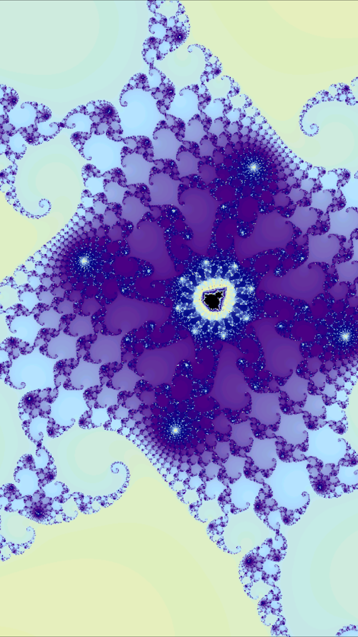Mandelbrot Set Generator- screenshot