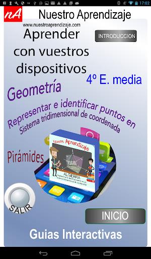 Coordenadas 3D Piru00e1mides 1.0.0 screenshots 9