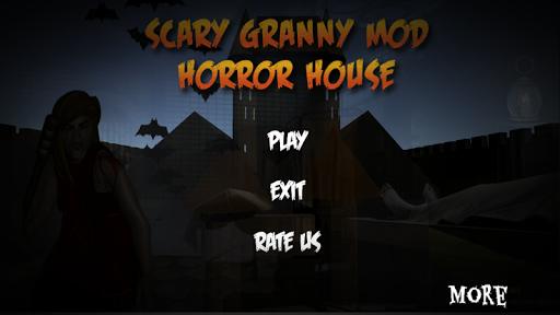 Scary granny mod horror house escape: Horror Games screenshots 1