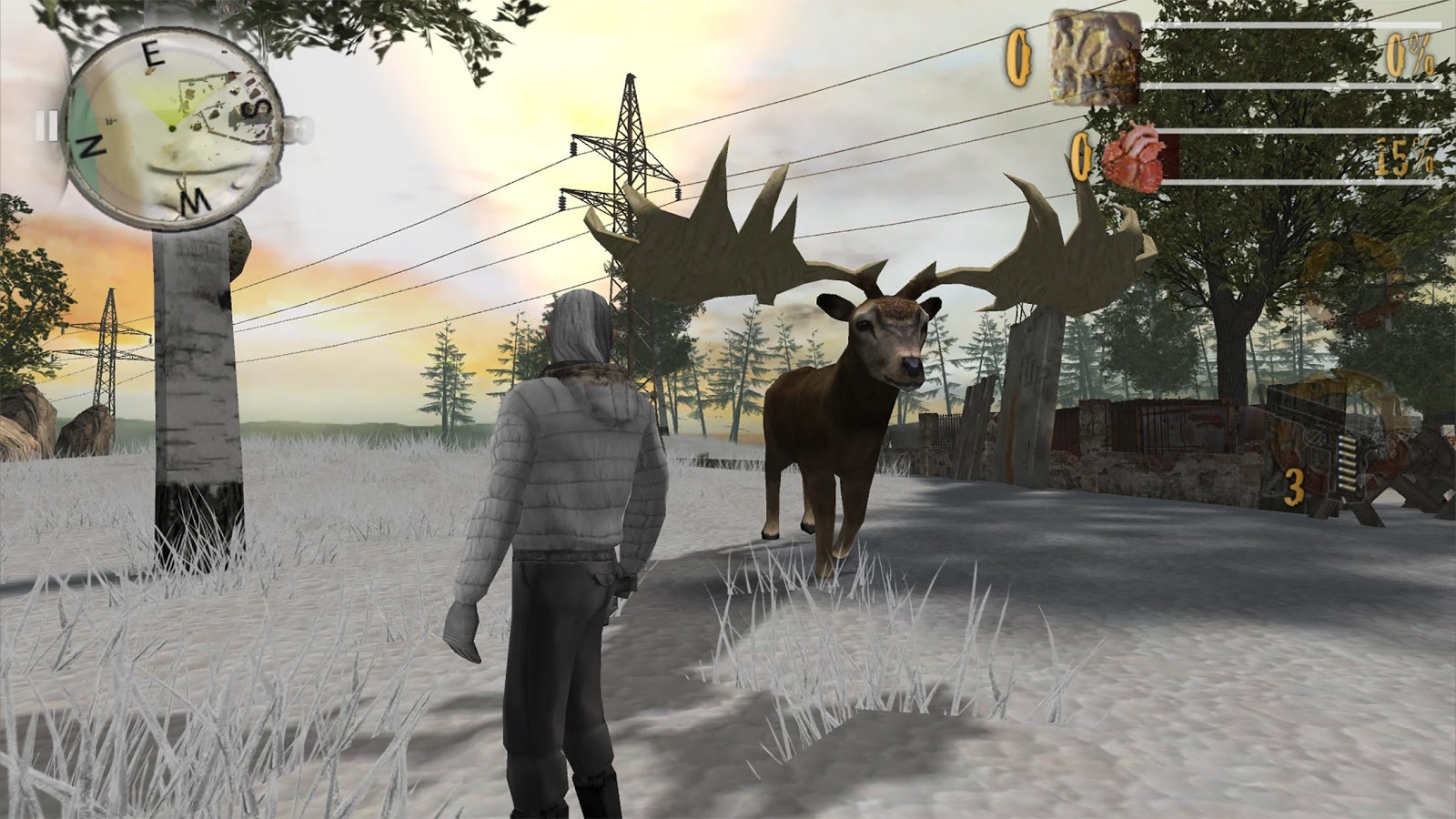Zombie Fortress : Ice Age Pro- screenshot