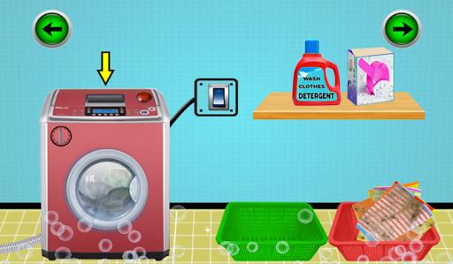 Code Triche petit service de blanchisserie: jeu de lavage de APK MOD (Astuce) screenshots 3