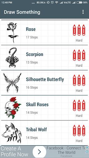 Learn How To Draw Tattoo 1.0 screenshots 6