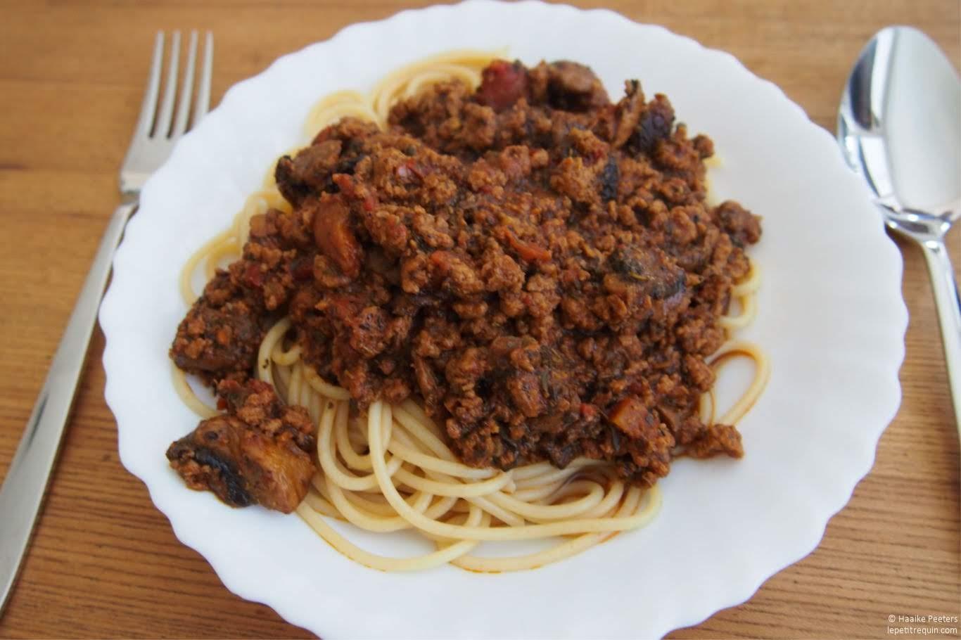 Spaghetti bolognaise (Le petit requin)