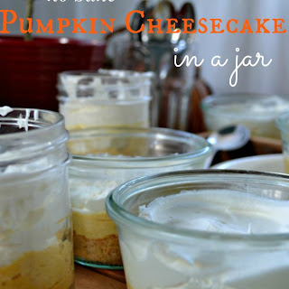 No Bake Pumpkin Cheesecake...in a jar