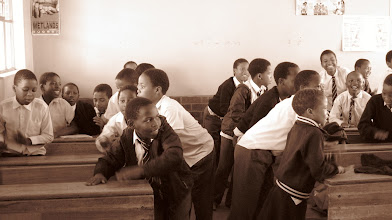 Photo: South African classroom