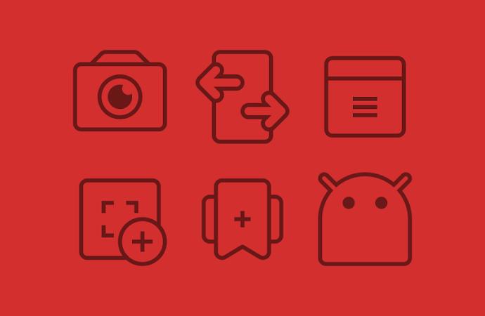 TwoPixel Dark – Icon Pack v4.1
