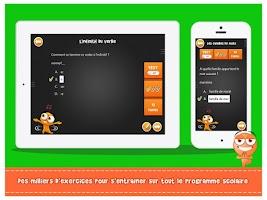 Screenshot of iTooch Français CM1