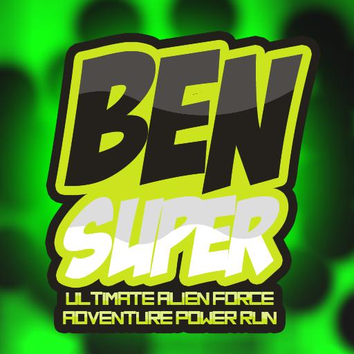 Super Ben Ultimate Alien force Adventure Power Run