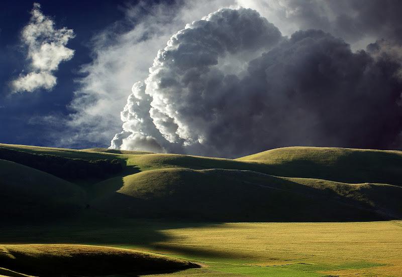 Castelluccio e nuvole di mariarosa-bc