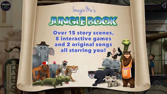 ImaginMe Jungle Book - náhled