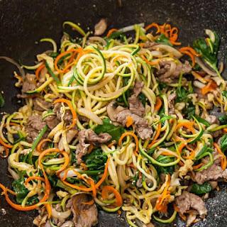 Korean Zucchini Noodles Recipe